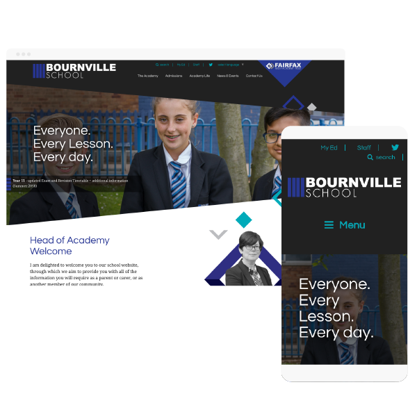Bournville website