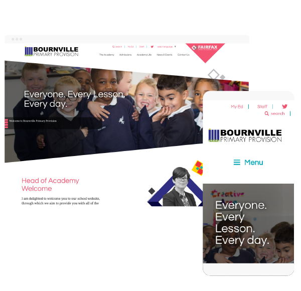 Bournville primary web