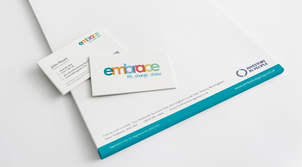 Embrace stationery