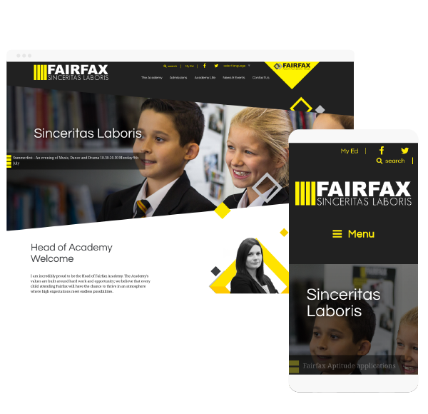 Fairfax website
