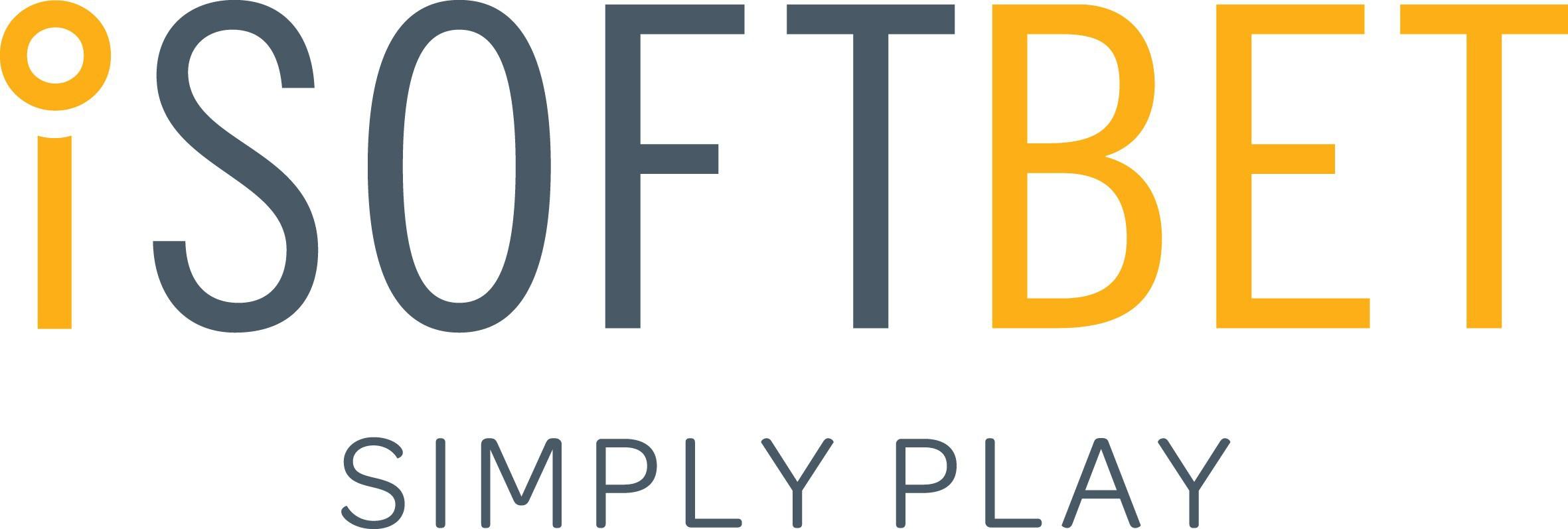 iSoftbet logo and strapline