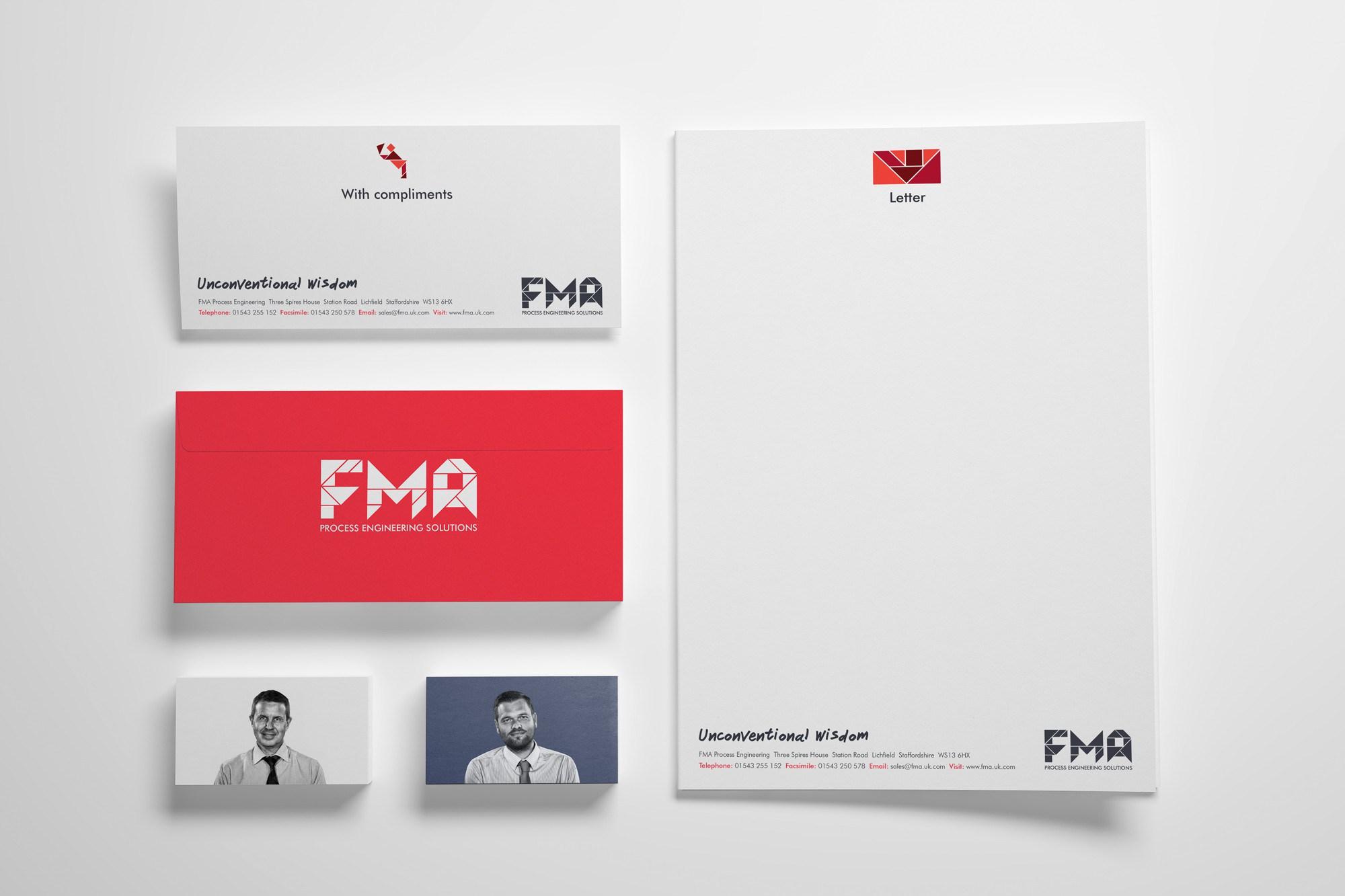 FMA stationery