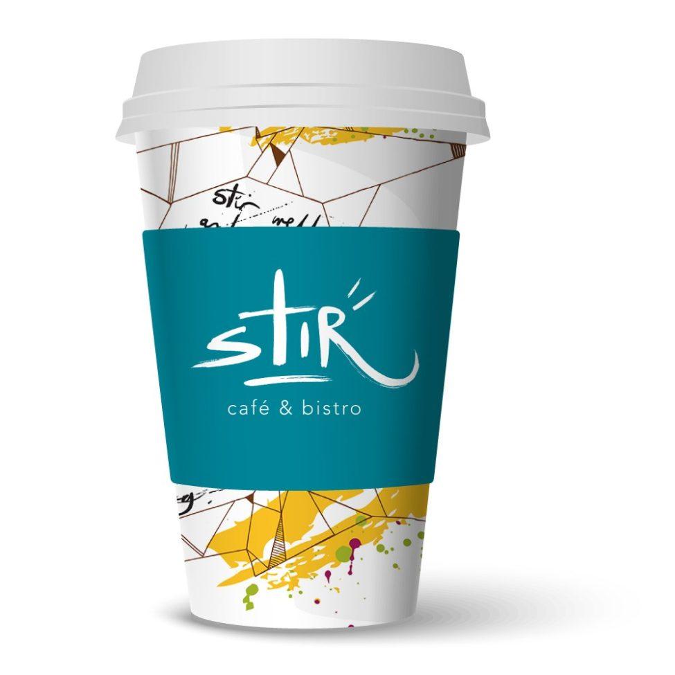 Stir cup