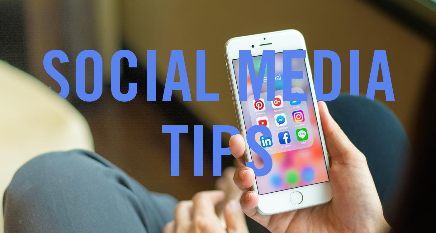 6 Social Media Tips